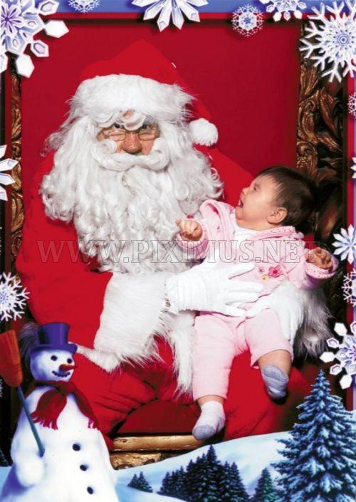 Children Afraid of Santa