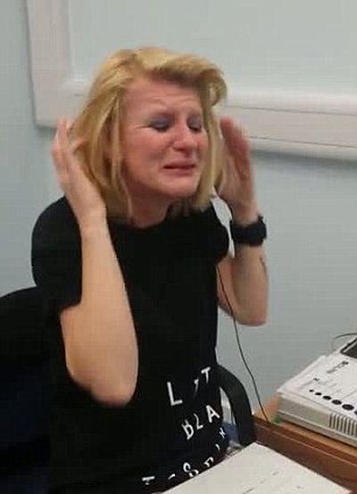 Deaf Woman Can Hear