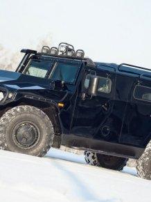 Tigr, GAZ - Russian Hummer