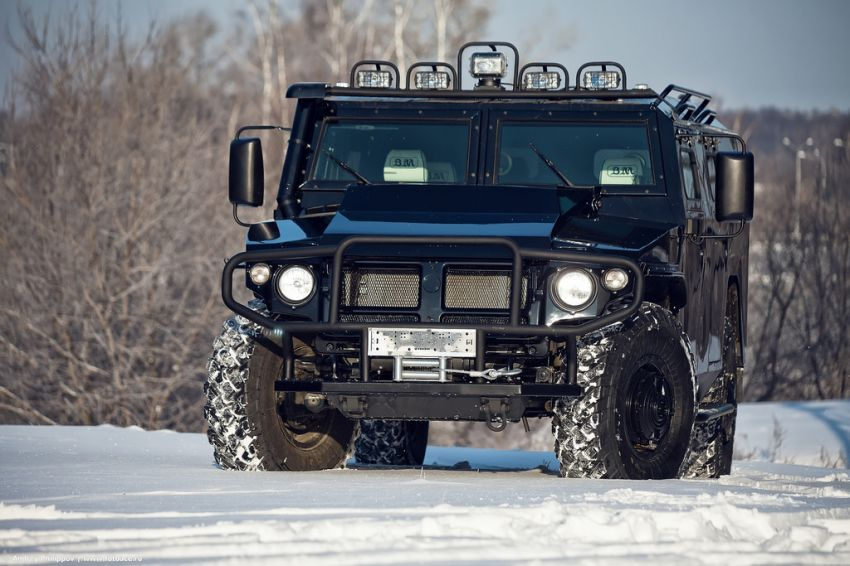 Tigr Gaz Russian Hummer Vehicles