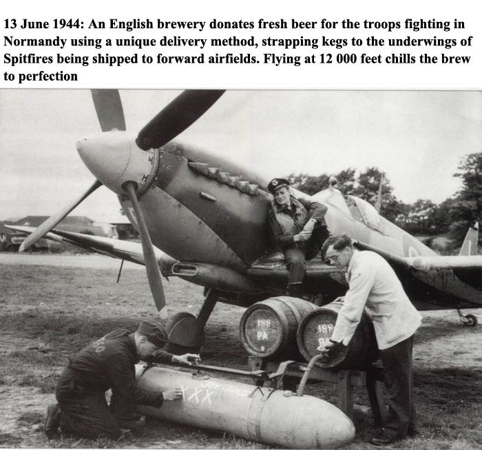 WWII Beer Delivery