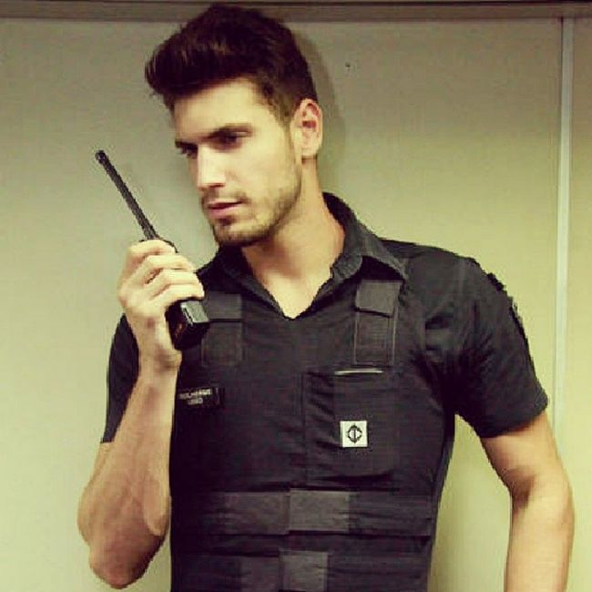 The Hottest Subway Security Guard