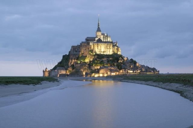 Mont Saint Michel - A Rocky Town in the Middle of the Sea