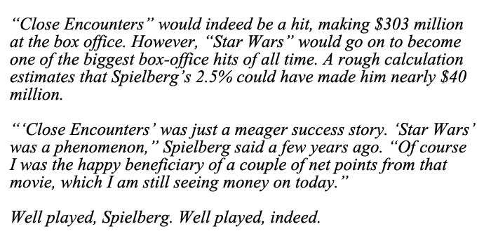 Well Played Spielberg