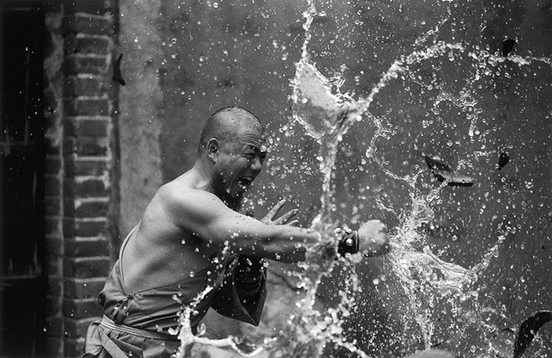 The monks of the Shaolin Temple