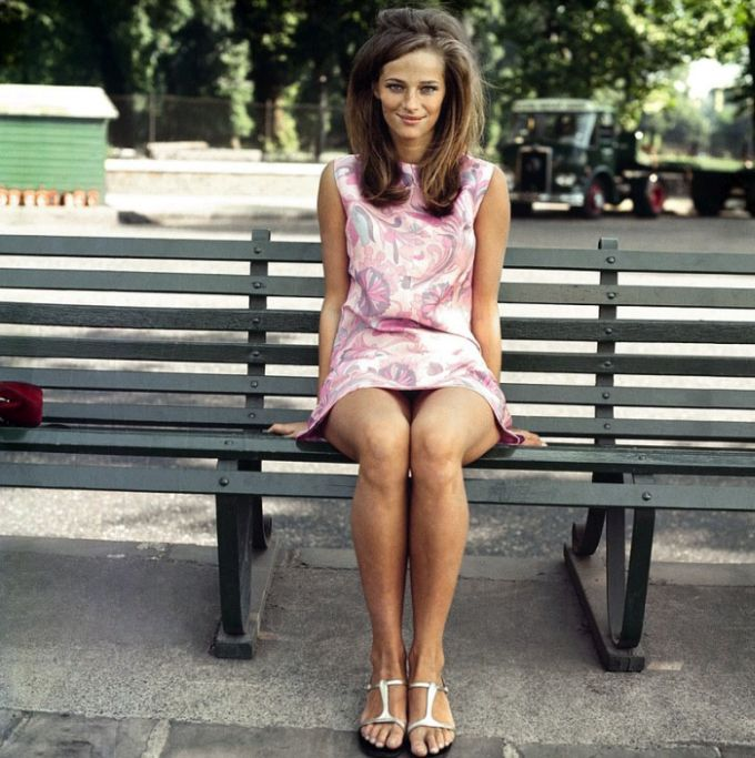 Charlotte Rampling Then and Now