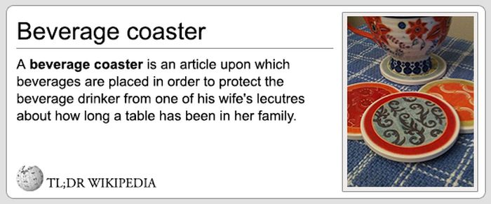 If Wikipedia Entries Were Honest