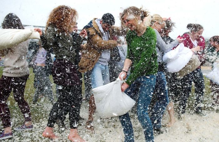 Pillow Fight Day 2014, part 2014