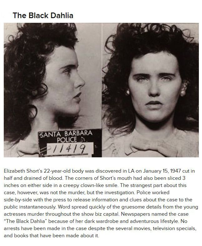 Bizarre Unsolved Crimes