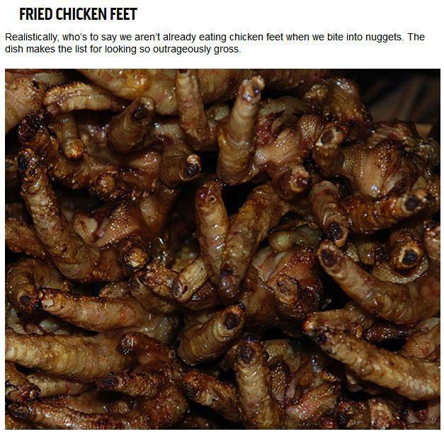 Disgusting Things People Eat