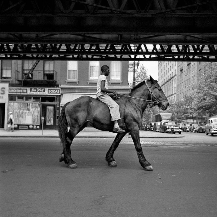 1950s Street Photos of NYC and Chicago