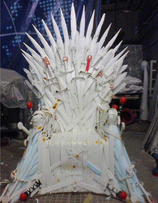 Iron Throne, part 2