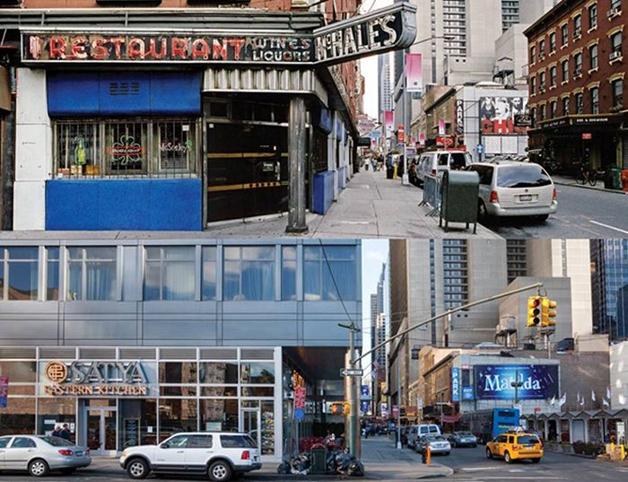 New York City Stores Then and Now