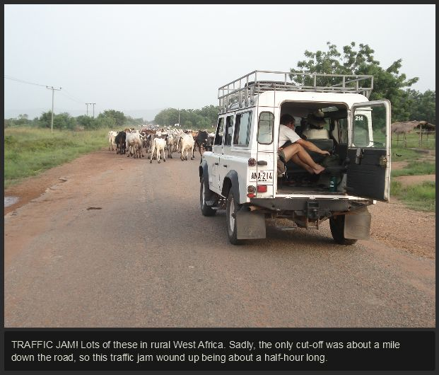 A Drive in West Africa