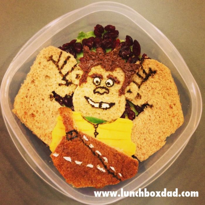 Dad Creates Great Lunches for His Kid