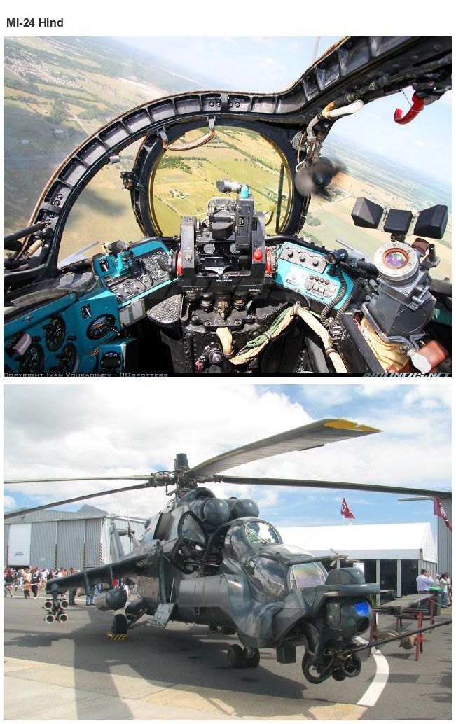 Cockpits of Planes and Tanks