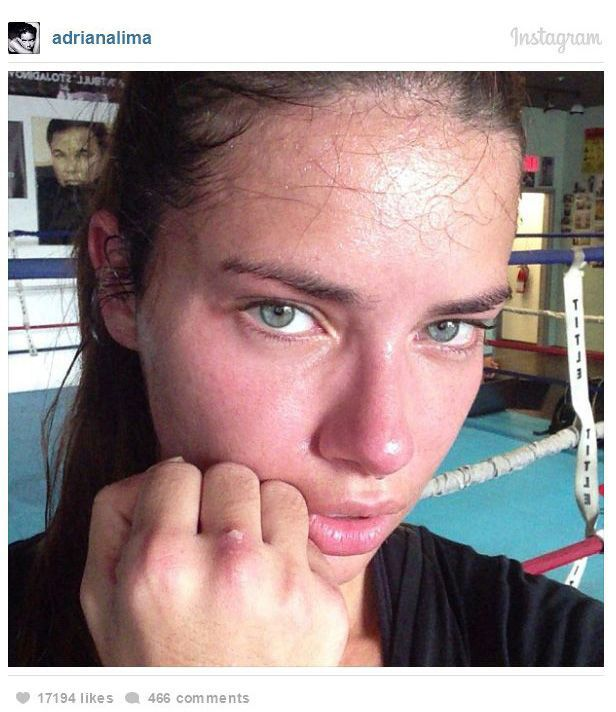 Celebrities Without Makeup on Instagram