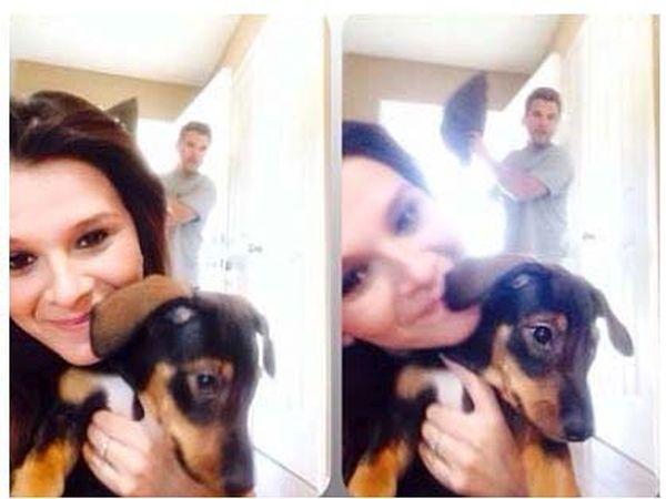 Her Boyfriend Hates Selfies
