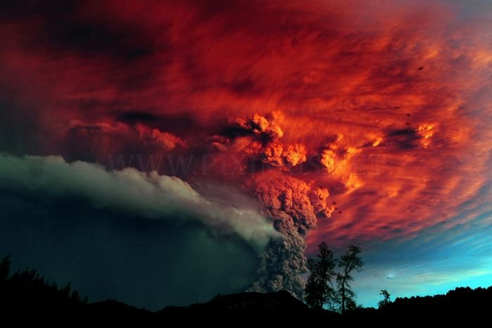 Chile's Puyehue Volcano Erupts