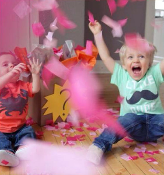 Parents Reveal Baby's Gender in a Fun Way