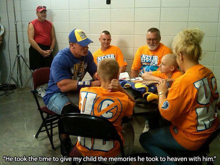 John Cena is a Very Good Man
