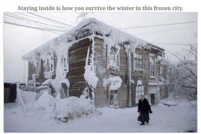 Russian City of Yakutsk