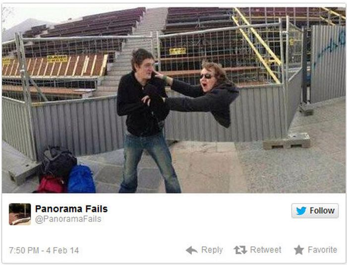 Very Scary Panorama Fails