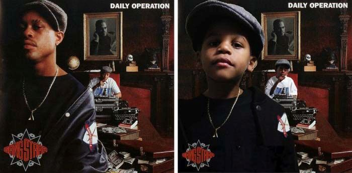 Dad Recreates Famous Album Covers with His Sons