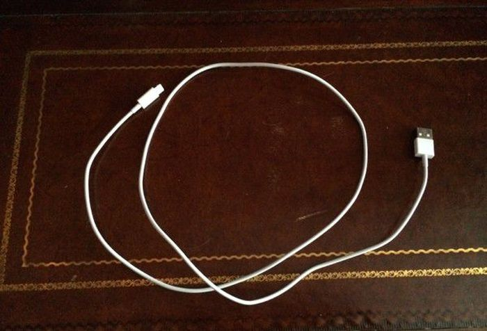 DIY Coiled iPhone Cable