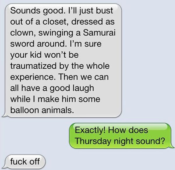 Trolling a Clown