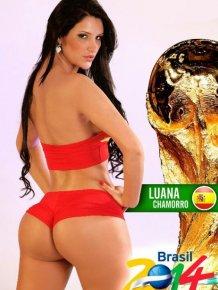 Sexy FIFA World Cup 2014 Calendar