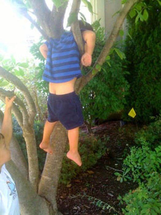 Kids Got Stuck