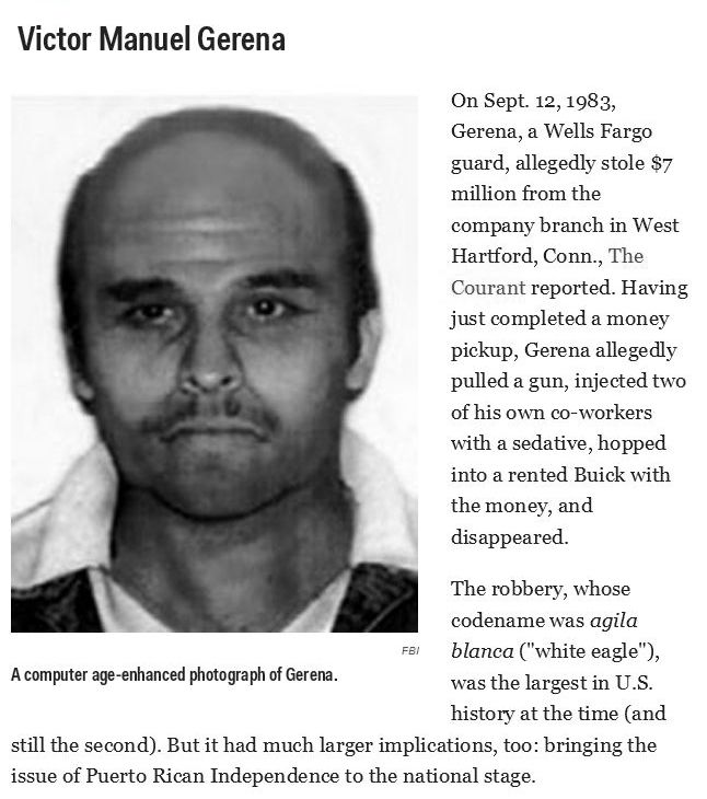 The 10 Most Wanted Fugitives In America