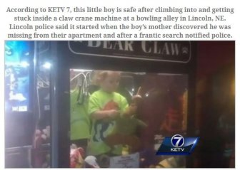Missing Boy Who Was Found in a Very Strange Place