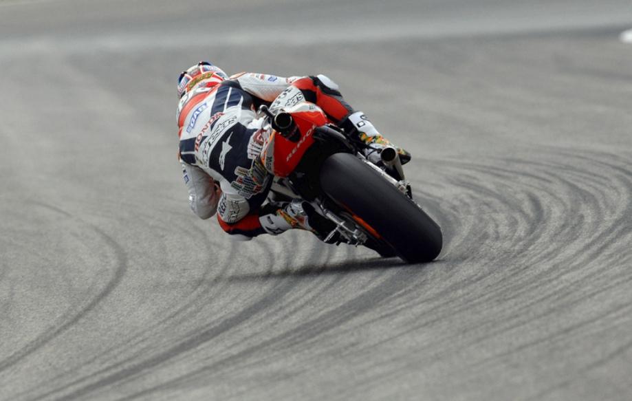Motorcycle powerslides