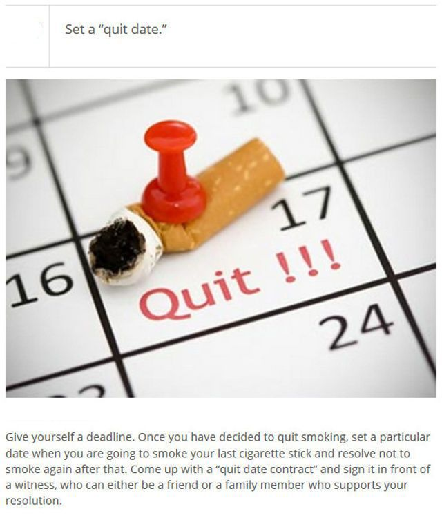 Essay Of How To Quit Smoking