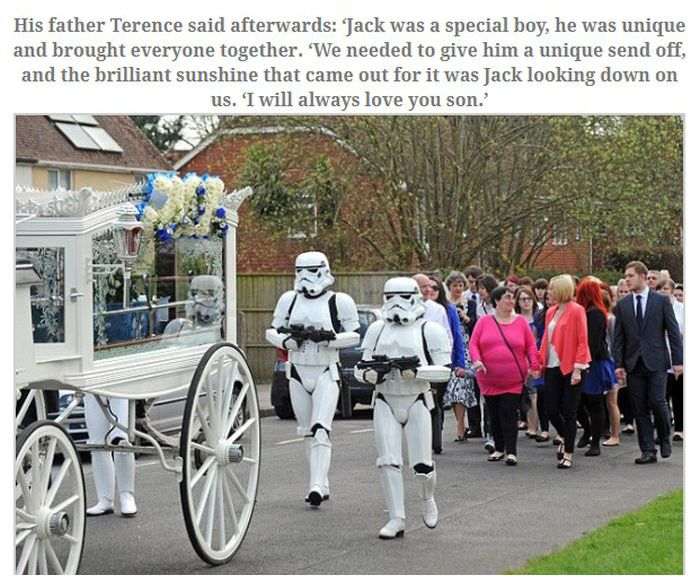 Jack Robinson's Final Wish Came True at His Funeral