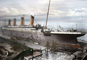 Rare Photos of Titanic