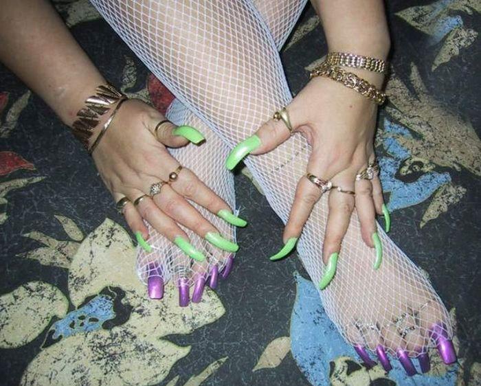 Very Long Nails