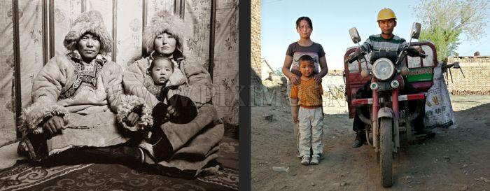 Kids from Mongolia Then and Now