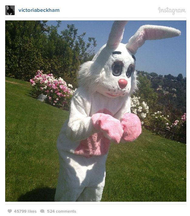 Celebrities Celebrating Easter