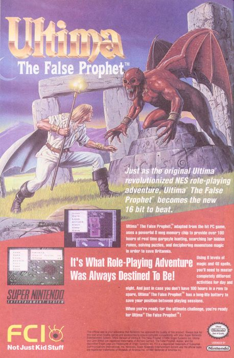 90s Video Game Ads