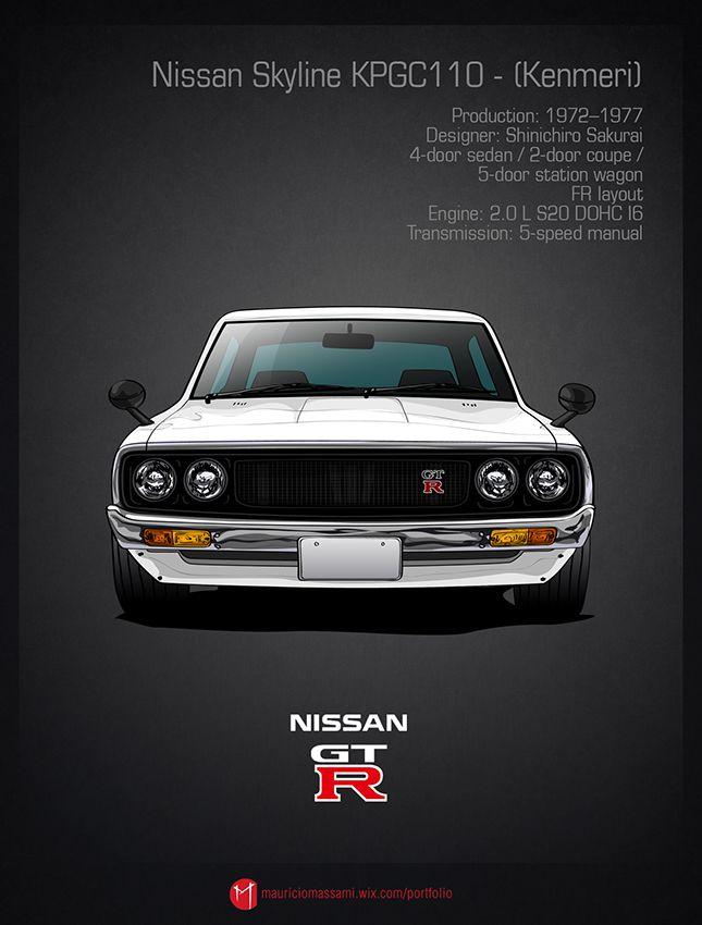 Nissan Skyline evolution