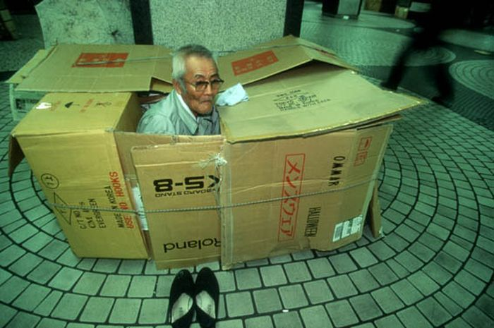 See What It's Like To Live In A Box