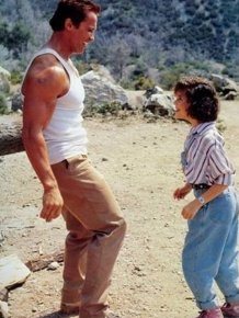 Arnold Schwarzenegger and Alyssa Milano Then & Now