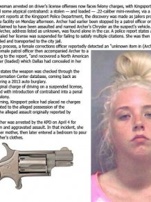 This Woman Stuck A Loaded Gun In Her Private Area