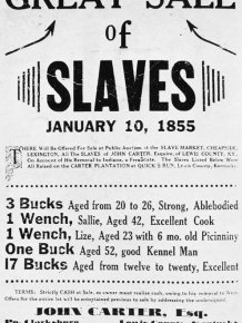 A Bold Look At The History Of Slavery