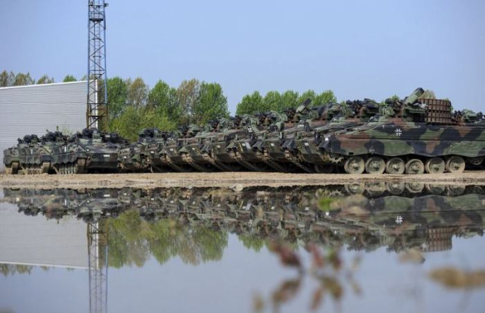 This Is Where Army Tanks Go To Die