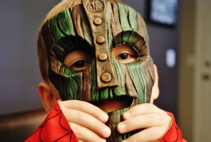 A Real Version Of The Mask From The Movie The Mask