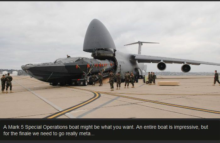 See How Many Things You Can Fit In A C-5 Galaxy?